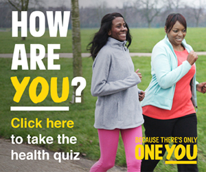 How are you? Click here to take the health quiz. Because there's only one you.